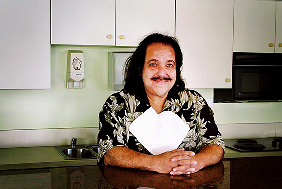 Ron Jeremy, ready to eat.