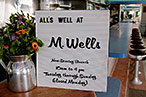 M. Wells Now Serves Dinner; Plus, Cocktails Next Month?