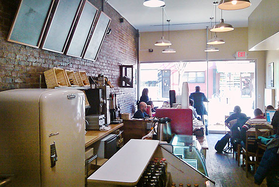 Park Slope's Nameless Café Opens on Lower East Side and Finally Gets a Name