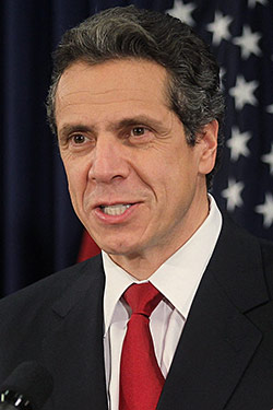 ... Indiana, and Ohio embolden New York's union members to stampede Albany, where Governor Andrew Cuomo is proposing serious cuts to wages and ... - 24_cuomo_250x375