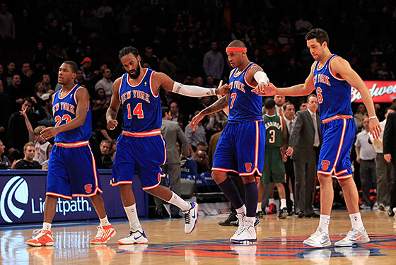 The KNICKS Still Don't Feel Like They Play on Earth Yet -- The ...