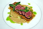 "The lamb served at Scotese's ""Street to Table"" dinners."
