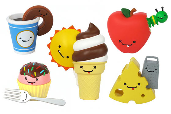 Adorbs! Cute Wittle Food Figurines From Kidrobot