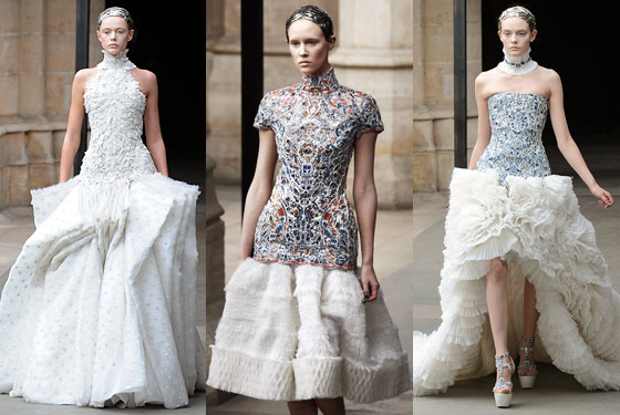 Sarah Burton Wins Raves For Her Second Alexander McQueen Collection The Cut