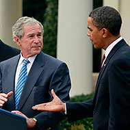 George w bush wants more credit for killing osama bin laden