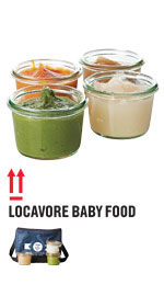 Locavore baby food