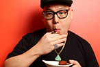 Eddie Huang Does Dim Sum at Nom Wah, Diets to Make His Mom Happy
