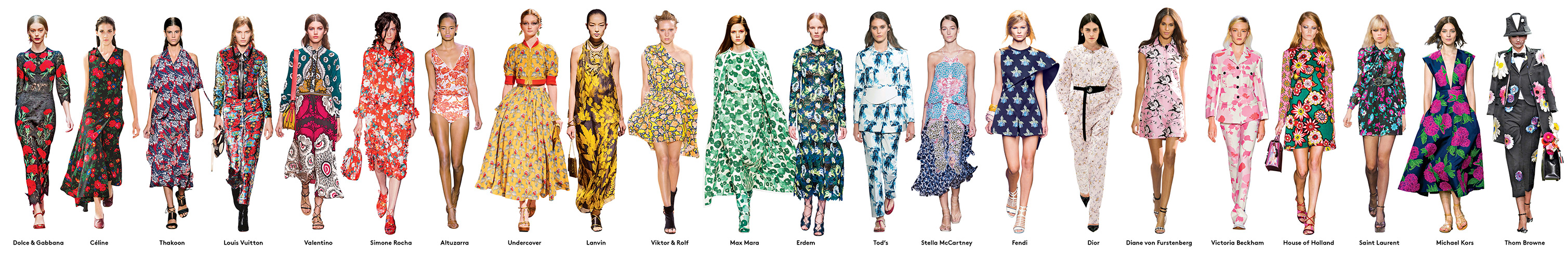 The New Looks Now: Spring's Biggest Trends Organized, Simplified, and Explained