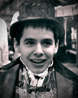 david archuleta in oliver!