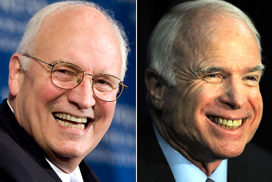 Dick Cheney John McCain