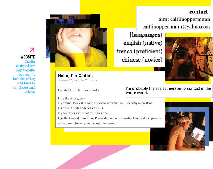 Caitlins Website