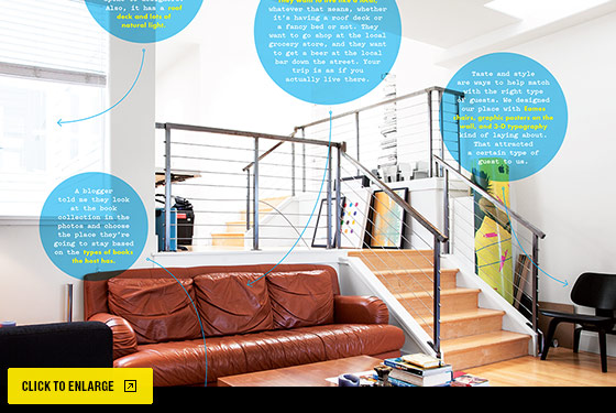 Airbnb interior: Click to expand