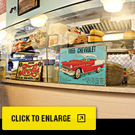 Archie and Son's restaurant interior: Click to expand