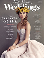 Cover of New York Magazine's Winter 2015 Wedding issue