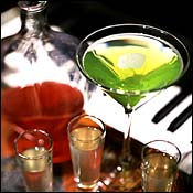 Infuseniks: The Russian Vodka Room's house flavors can be ordered by the shot or carafe.