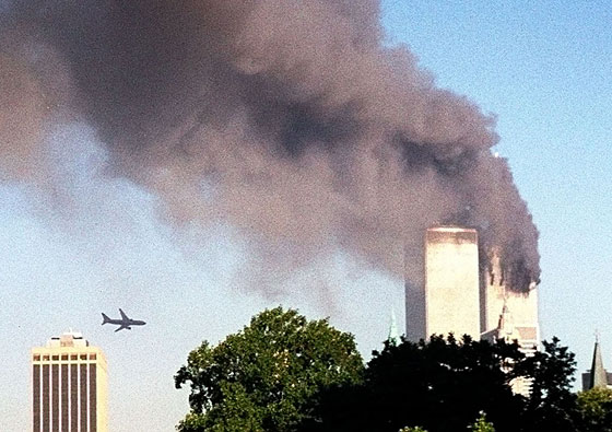 Planes Strike the Twin Towers
