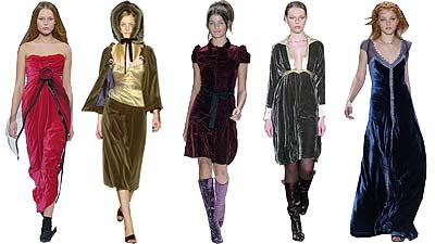 Top 10 trends from new york fall 2005 fashion week