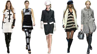 Top ten trends from the fall 2005 fashion week in europe