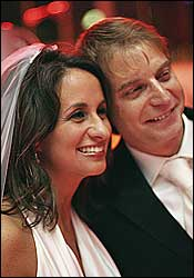 Wife Audrey Puente with husband Jay Thompson
