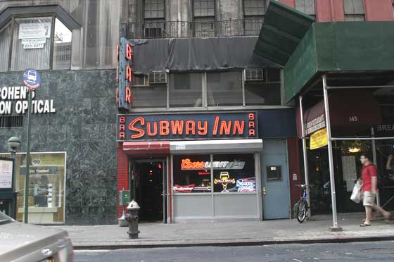 SUBWAY Inn INC - New York, NY