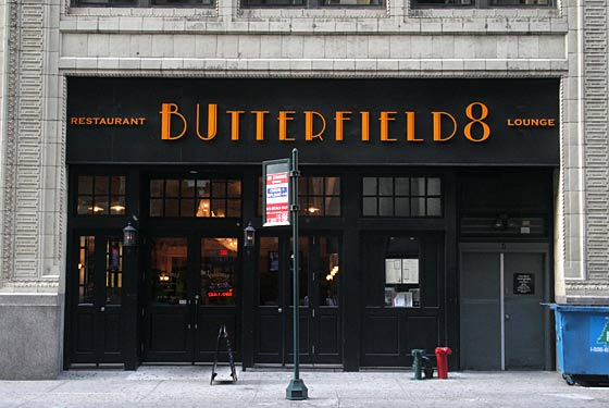 Butterfield 8 - New York, NY