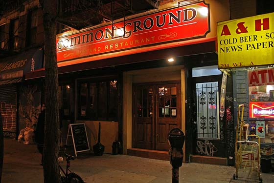 Common Ground Bar & Restaurant - New York, NY