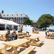 Water Taxi Beach at Governors Island Photo