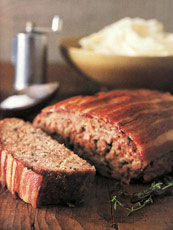 Meat Loaf With Mushroom Sauce - Main Courses - New York Magazine