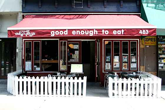 Good Enough to Eat - New York, NY