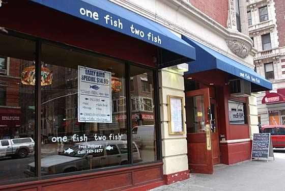 one fish two fish restaurant new york ny