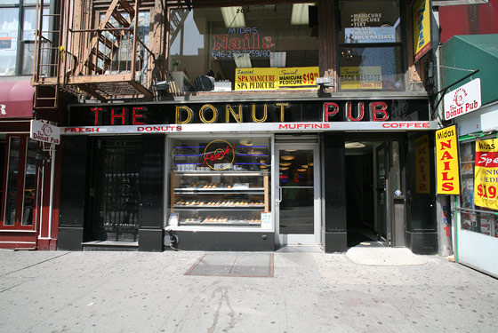 The Donut Pub - New York, NY