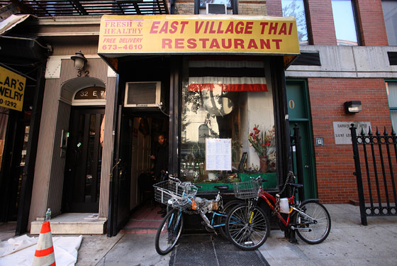 East Village Thai Restaurant - New York, NY