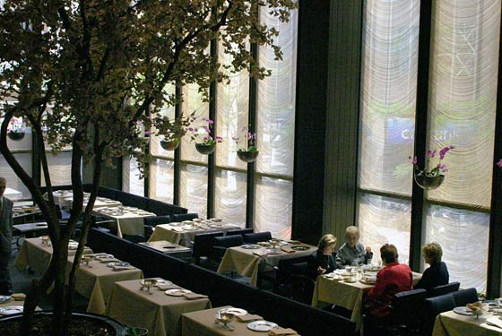 The Four Seasons Restaurant- The Grill Room - New York, NY