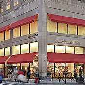 Pictures of the american girl doll store in new york