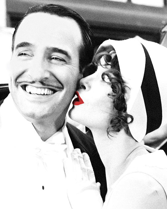 How silent french film the artist became the talk of the for Film jean dujardin