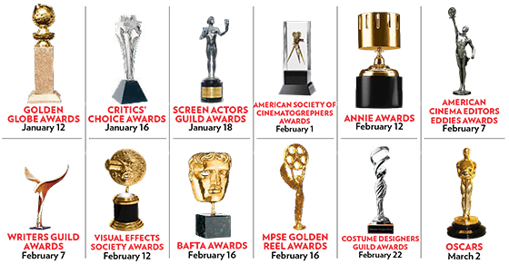 Image result for film awards trophies