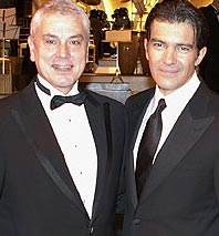Dance Partners Antonio Banderas And Pierre Dulaine