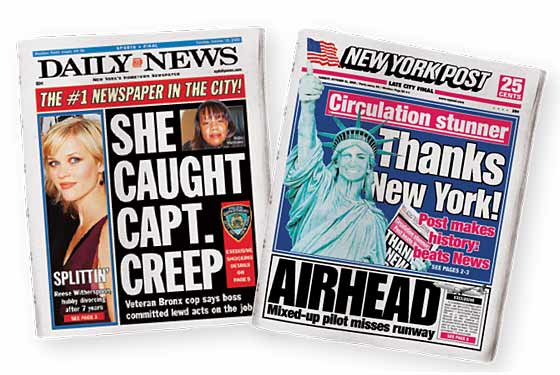 THANKS NEW YORK! screamed the New York Post one late-October morning,  alongside a color picture of a broadly grinning Statue of Liberty. The  occasion?
