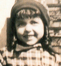 Rita Moreno as a child