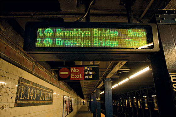 What Those Subway Countdown Clocks Do To Your Brain New
