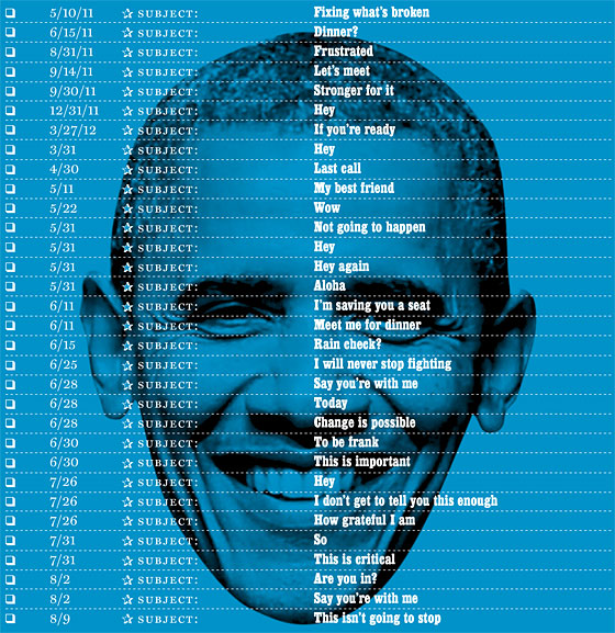 obama subject lines
