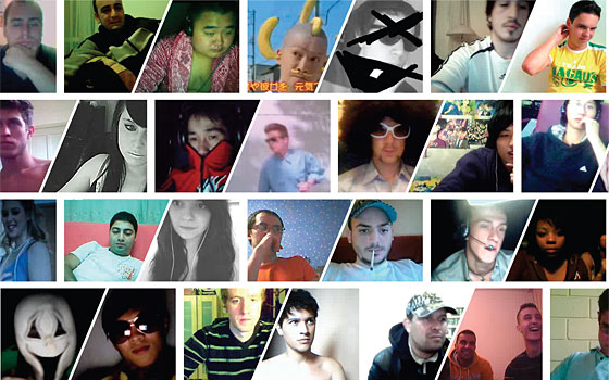 NY Mag ChatRoulette collage