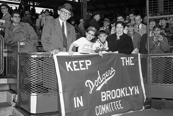 Image result for baseball's national league approved the moving of the brooklyn dodgers to los angeles
