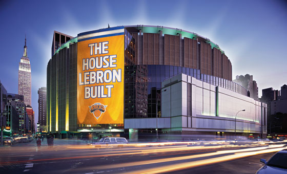 Why Lebron James Should Be A Knick Because We Re Remaking Madison Square Garden New York
