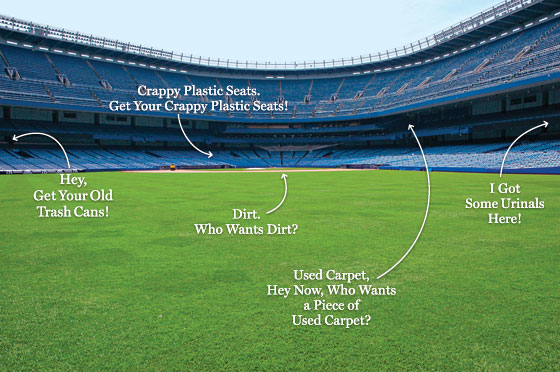 How much will fans pay for a piece of yankee stadium new york harvesting yankee stadium malvernweather Image collections