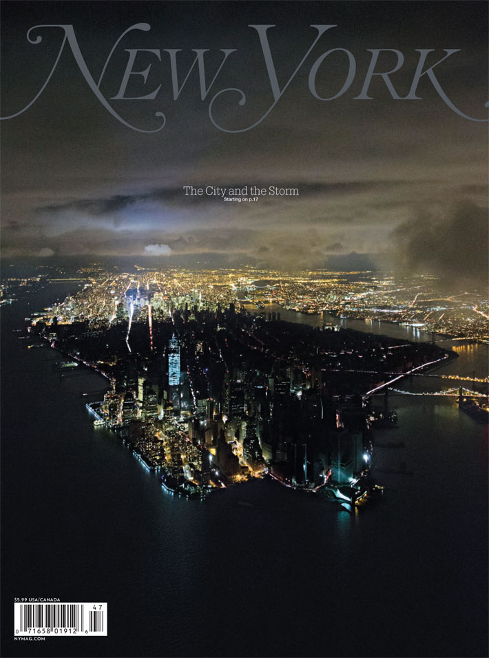 Copertă New York Magazine