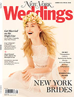 Cover of New York Magazine's Summer 2012 Wedding issue