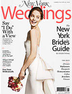 Cover of New York Magazine's Summer 2014 Wedding issue