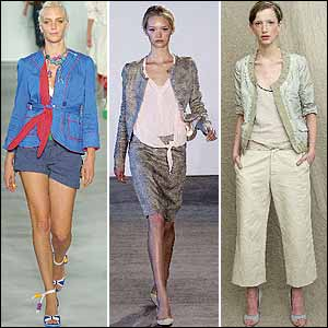 Jacket Trend in New York Spring 05 Fashion