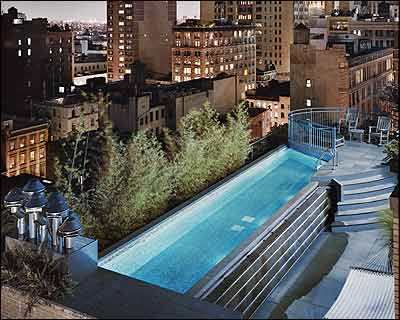 Crawl Space A Pool In The Tribeca Sky